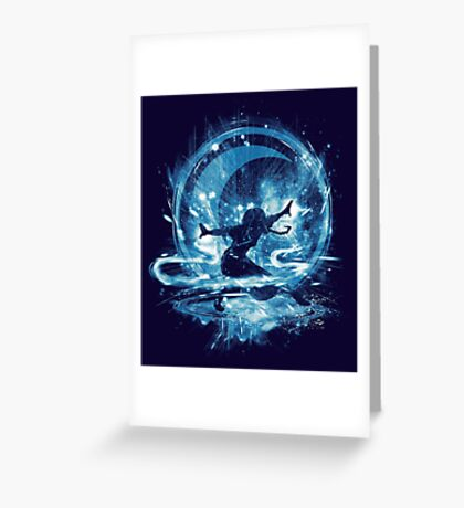 water storm Greeting Card