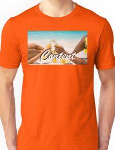 Content - Beach Unisex T-Shirt
