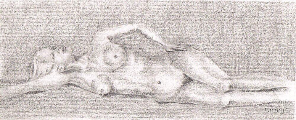 Resting Woman by Omary S
