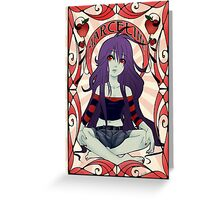 Marceline the Vampire Queen Greeting Card