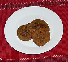 Chocolate Chip Cookies by Sandra Chung