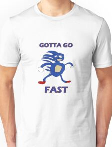 Sanic - Gotta go fast Unisex T-Shirt