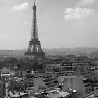 Eiffel Tower from the Arc by Andrew Wilson