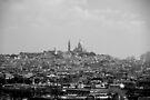 Sacre Coeur looking over Paris by Andrew Wilson