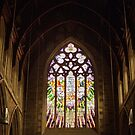 Stained Glass—St David's Cathedral Hobart by Brett Rogers