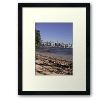 Sydney City | Greenwhich Baths 3 Framed Print