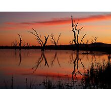 Lake Fyans Grampians Photographic Print