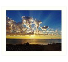 Fremantle Sunset Art Print