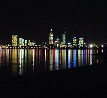 Perth City at Night by Simon Boyd