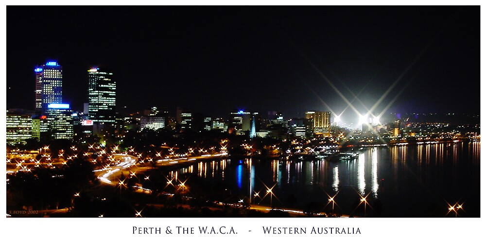 Perth City and The WACCA by Simon Boyd