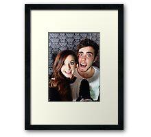 Zalfie <<33 Framed Print