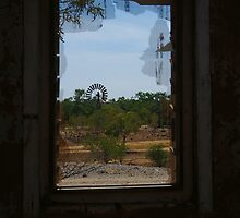 Ruin,Old Cork Station,Outback Queensland by Joe Mortelliti