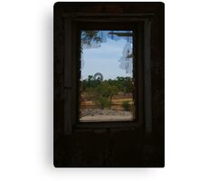 Ruin,Old Cork Station,Outback Queensland Canvas Print