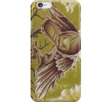 The Courier, Surreal Bird In Nature iPhone Case/Skin