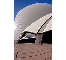 Side of Opera House  Photographic Print