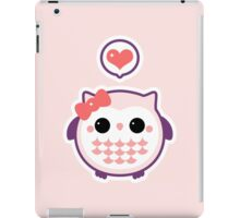 Cute Baby Owl iPad Case/Skin