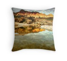 Sunset on Mt. Giles Throw Pillow