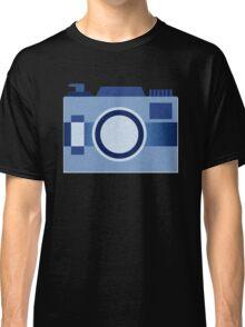 Retro Old-Time Camera, Blue Classic T-Shirt