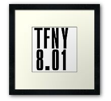 TFNY - Black Framed Print