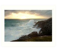 Power and Glory, Cape Bridgewater Art Print