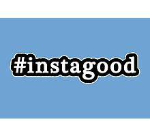Instagood - Hashtag - Black & White Photographic Print