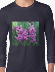 Hyacinth Blossoms Long Sleeve T-Shirt