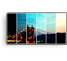 Roebling Canvas Print