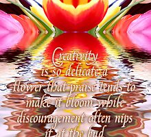 flower of creativity by webgrrl