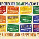 Atheist Greeting Card 2 by Shani Sohn