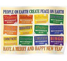 Atheist Greeting Card 2 Poster