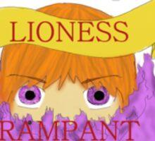 Alanna the Lioness Rampant Tamora Pierce Tortall  Sticker