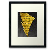 RANGERS Framed Print