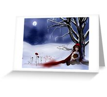 Who is Afraid of the Big Bad Wolf? Greeting Card