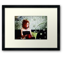 Tea & Tart Framed Print