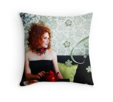 Tea & Tart Throw Pillow
