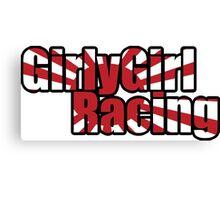 GirlyGirl Racing Canvas Print