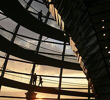 Reichstag Sunset by David Mack