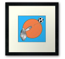 Big Hero's Balloon Framed Print