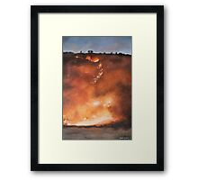 Fire Season I Framed Print