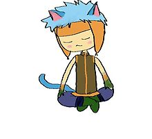 Ranulf Fire Emblem Laguz Blue Cat by lincolnotoolie