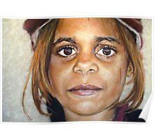 Girl in Cap II Poster