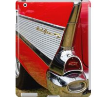 Chrome tail light - Chevrolet BelAir iPad Case/Skin