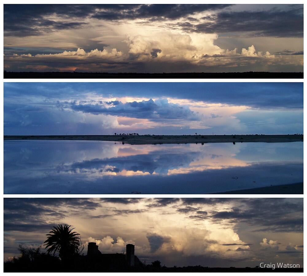 Sunset Storm - Yorketown South Australia by Craig Watson