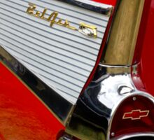Chrome tail light - Chevrolet BelAir Sticker