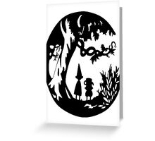 Into the unknown. Greeting Card