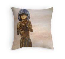 Baseball Boy II Throw Pillow