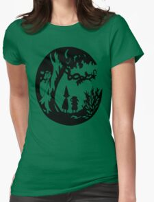 Into the unknown. Womens Fitted T-Shirt