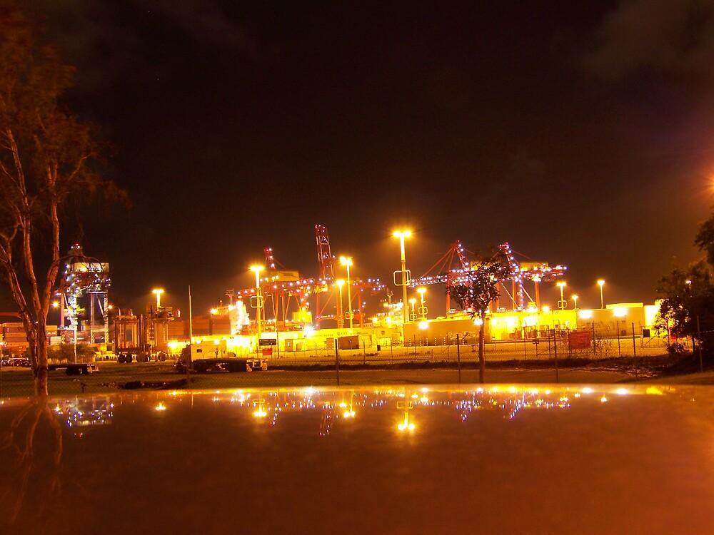 Port of Brisbane by aperture