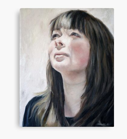 In the Morning Sun I: Alicia Canvas Print