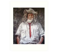 Campbell the Swagman II Art Print